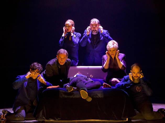 Momento de la obra Hamlet