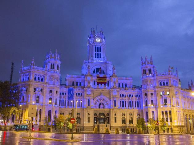 Palacio de Cibeles Makeitblue