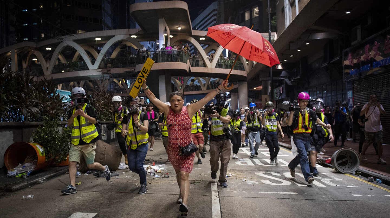 'Hong Kong Unrest' (Nicolas Asfouri, World Press Photo 2020, General News, Stories, 1st Prize)