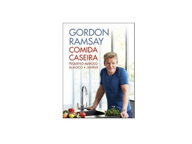 Livro, Cozinha, Comida Caseira, Gordon Ramsay
