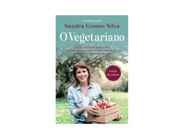 Livro, Cozinha, O Vegetariano, Sandra Gomes Silva