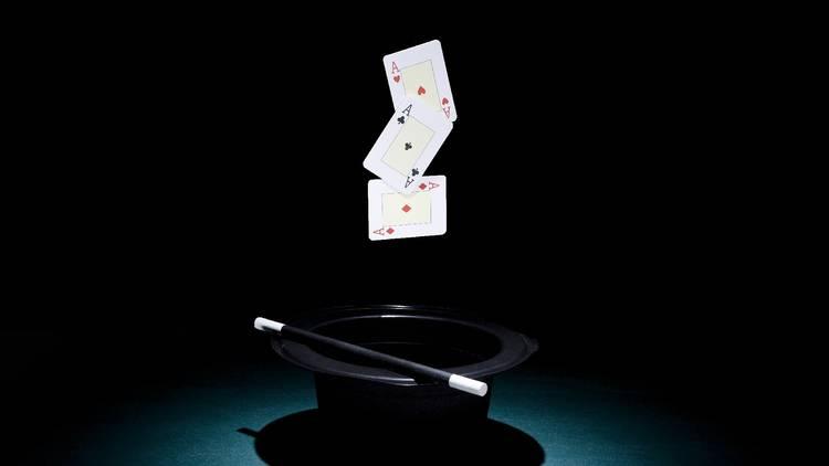 Jogos, Passatempo, Ilusionismo, Magia, Cartas