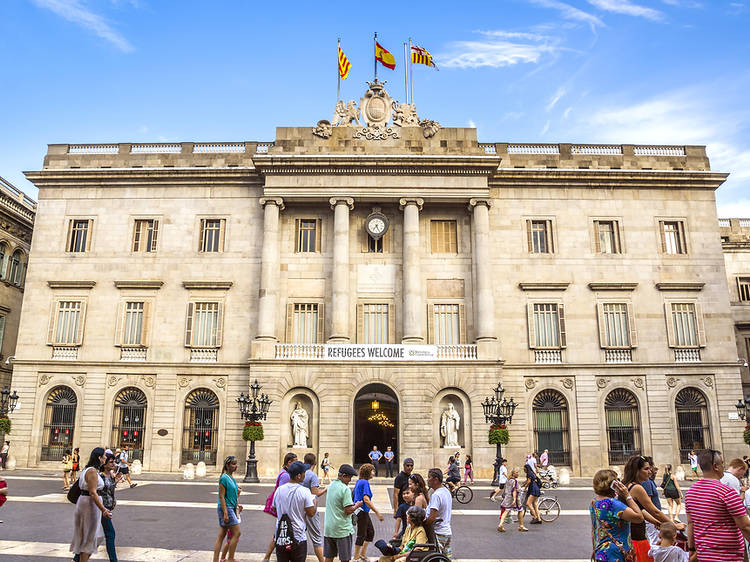 Visita virtual al Palau de la Generalitat