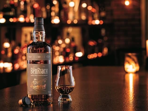 The BenRiach scotch whisky