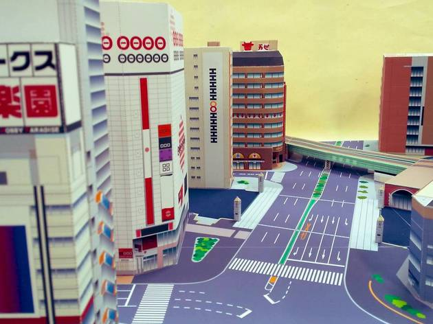 Akihabara paper model