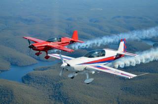 Aircombat Australia flypast