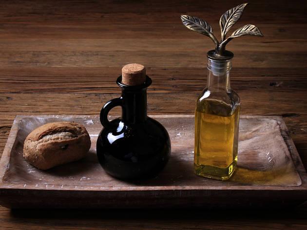 Brad, Vinegar, and Olive Oil