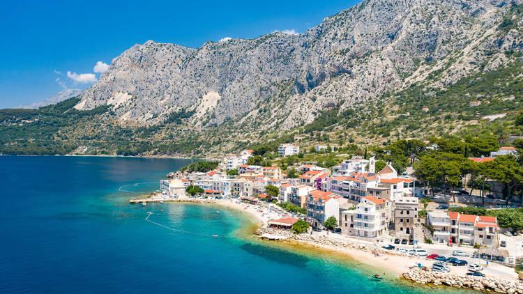 Peaceful village of Drasnice in Croatia