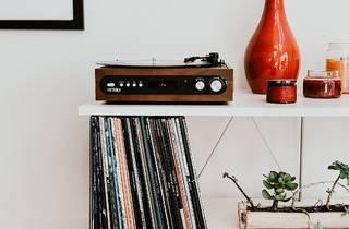 Musica, Gira Discos, Decoração