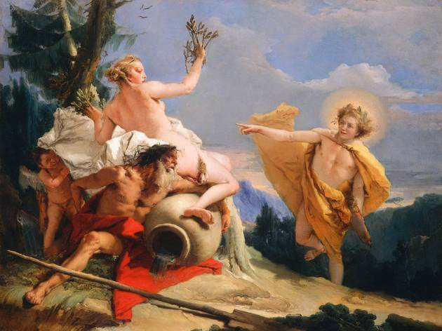 Arte, Pintura, Apollo persegue Daphne, Giovanni Battista Tiepolo