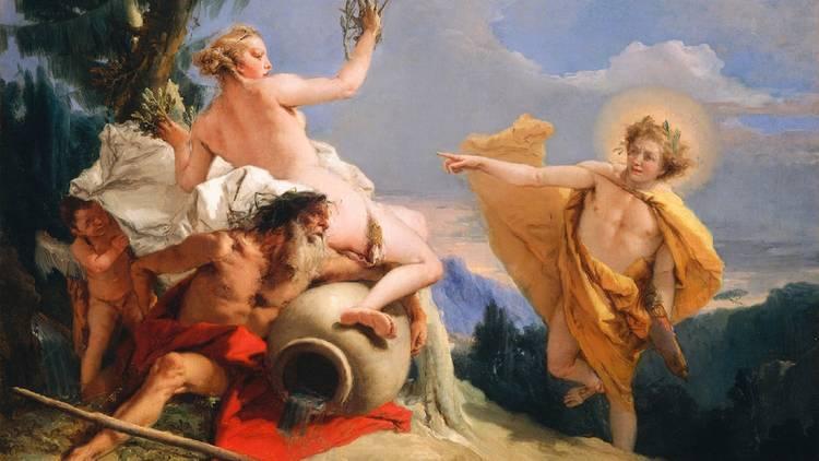 Arte, Pintura, Apollo persegue Daphne, Giovanni Battista Tiepolo