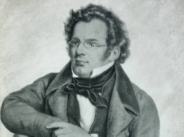 Arte, Litografia, Franz Schubert, C. Helfert