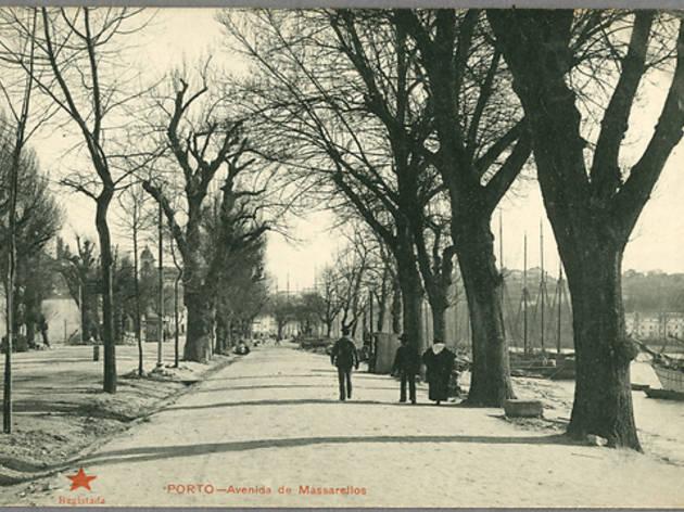 Porto antigo em postais