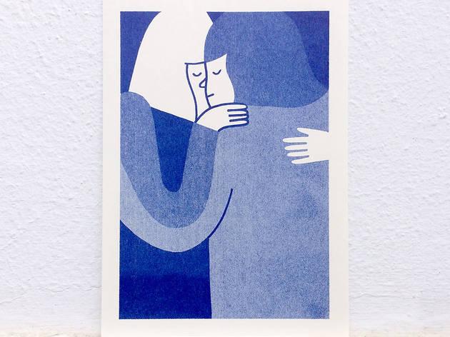 Joana Estrela, ilustração, Hug Riso