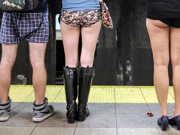 no pant subway ride