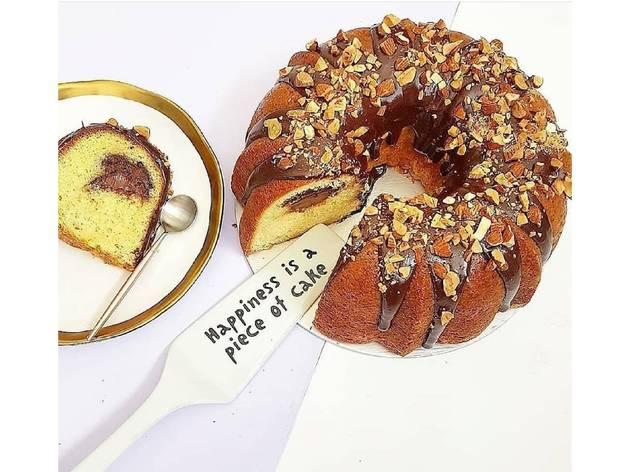 bundt cake de nutella y plátano de moira's bakehouse