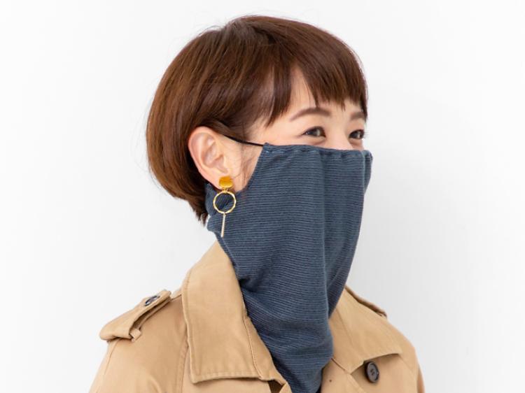 Felissimo mask snood