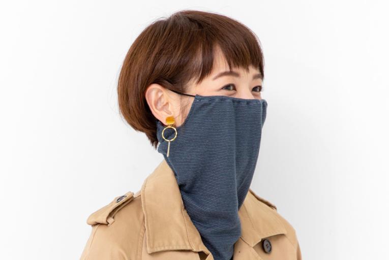 Felissimo snood mask