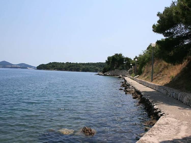 Walk one of Croatia's longest promenades