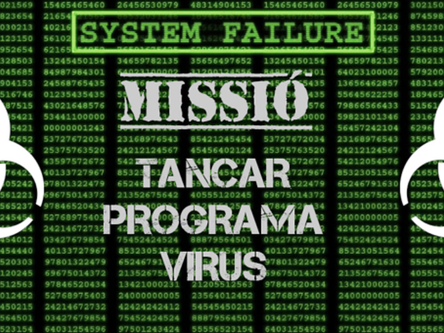 Escape room virtual Missió: tancar programa virus