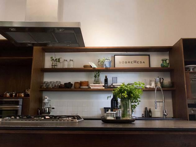 cocina sobremesa interior