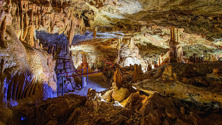 This cave is called the Kingdom of Festini and sits in the heart of Istria