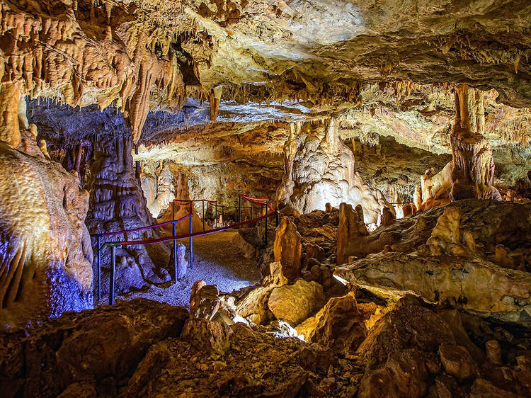 Gravitate to Grapčeva Cave
