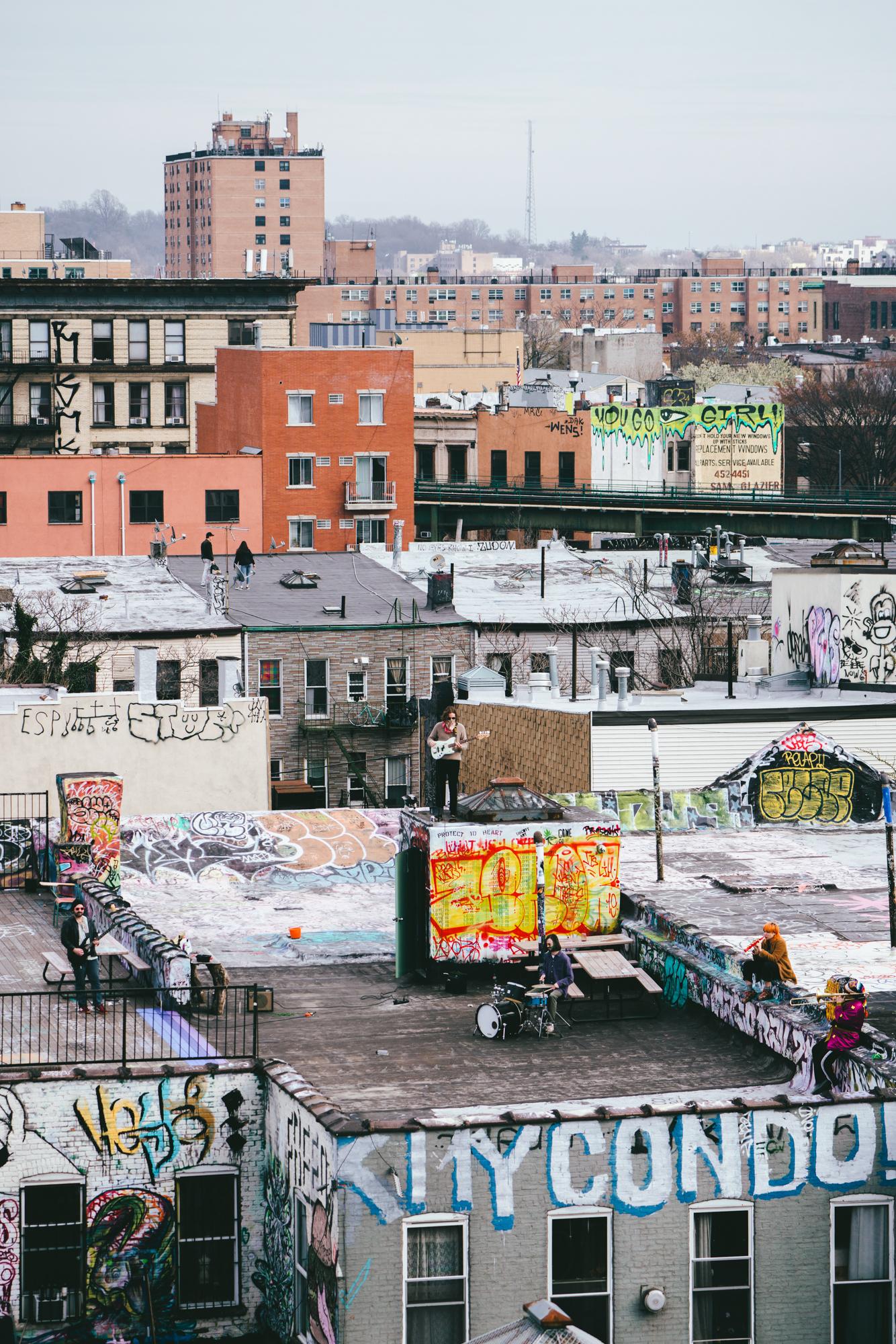 New York City roofs