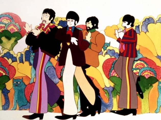 """Le mythique film """"Yellow Submarine"""" des Beatles diffusé en direct sur YouTube"""