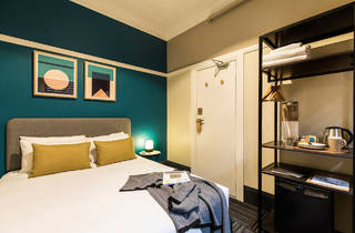 A double room at The Jensen in Potts Point