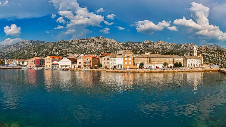 View of Karlobag, Zadar county