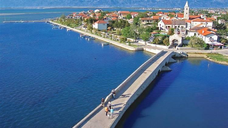 Bridge in Nin, Zadar county
