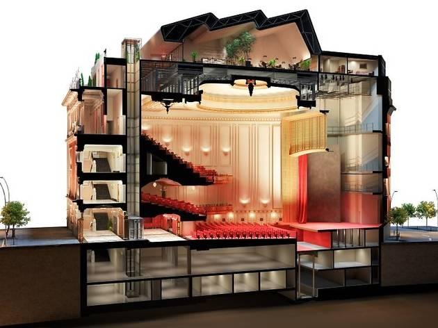 El proyecto del Palacio de la Música