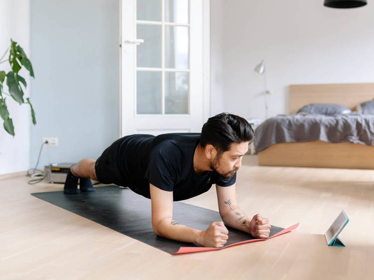 Online workouts from the best fitness studios in Bangkok