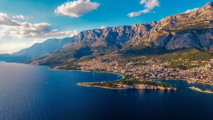 Town of Makarska, Makarska riviera, south Dalmatia