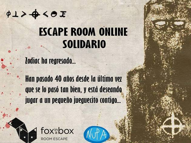 Escape room vistual Fox in a box
