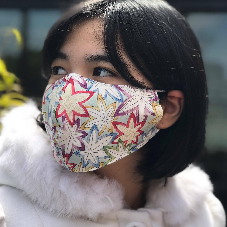 I was a kimono face mask