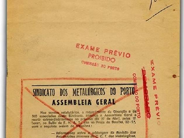 Convocatória cortada do Jornal de Notícias pelo Exame Prévio