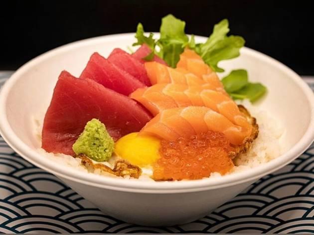 Plato de sashimi