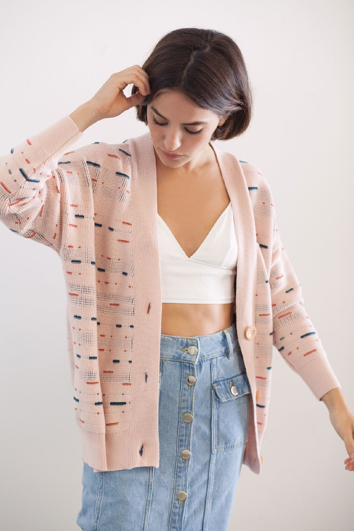 Chaqueta cardigan de Emes slow fashion