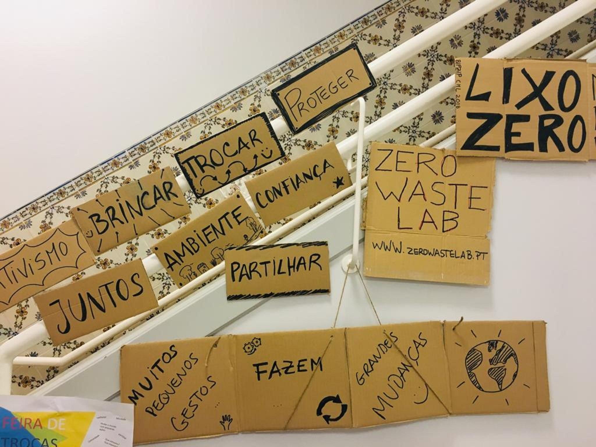 Sara Morais Pinto é responsável pelo Zero Waste Lab