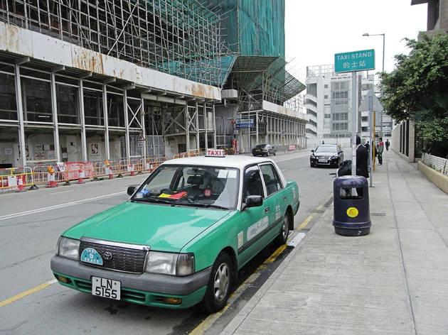 Green Taxi, Hong Kong, 27042020