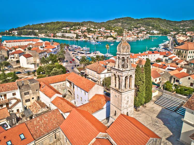 Hop on a boat to Korčula