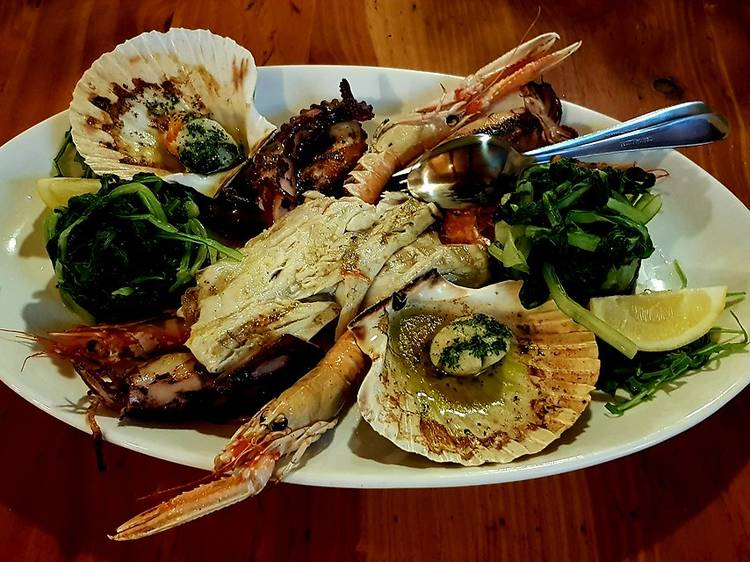 Sample local cuisine