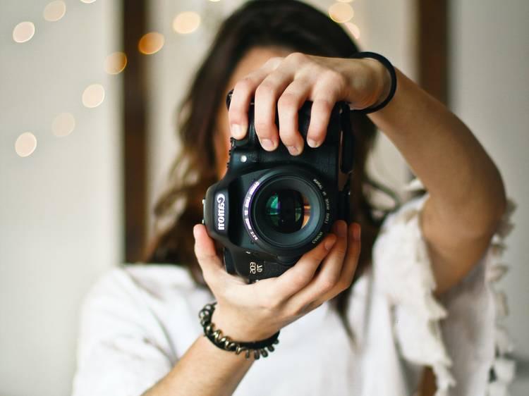 Quatro cursos de fotografia online