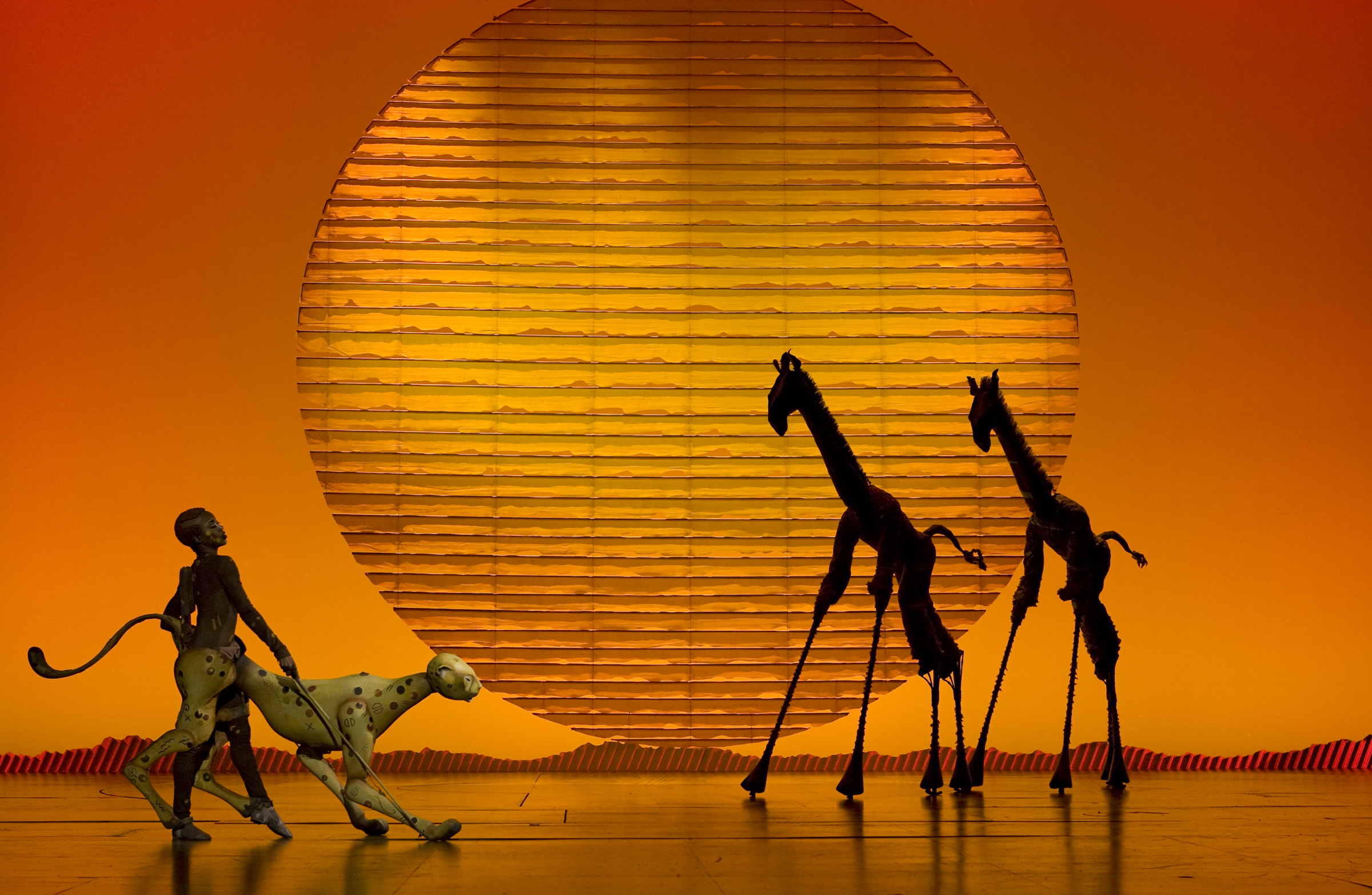 "Go behind the scenes of ""The Lion King"""