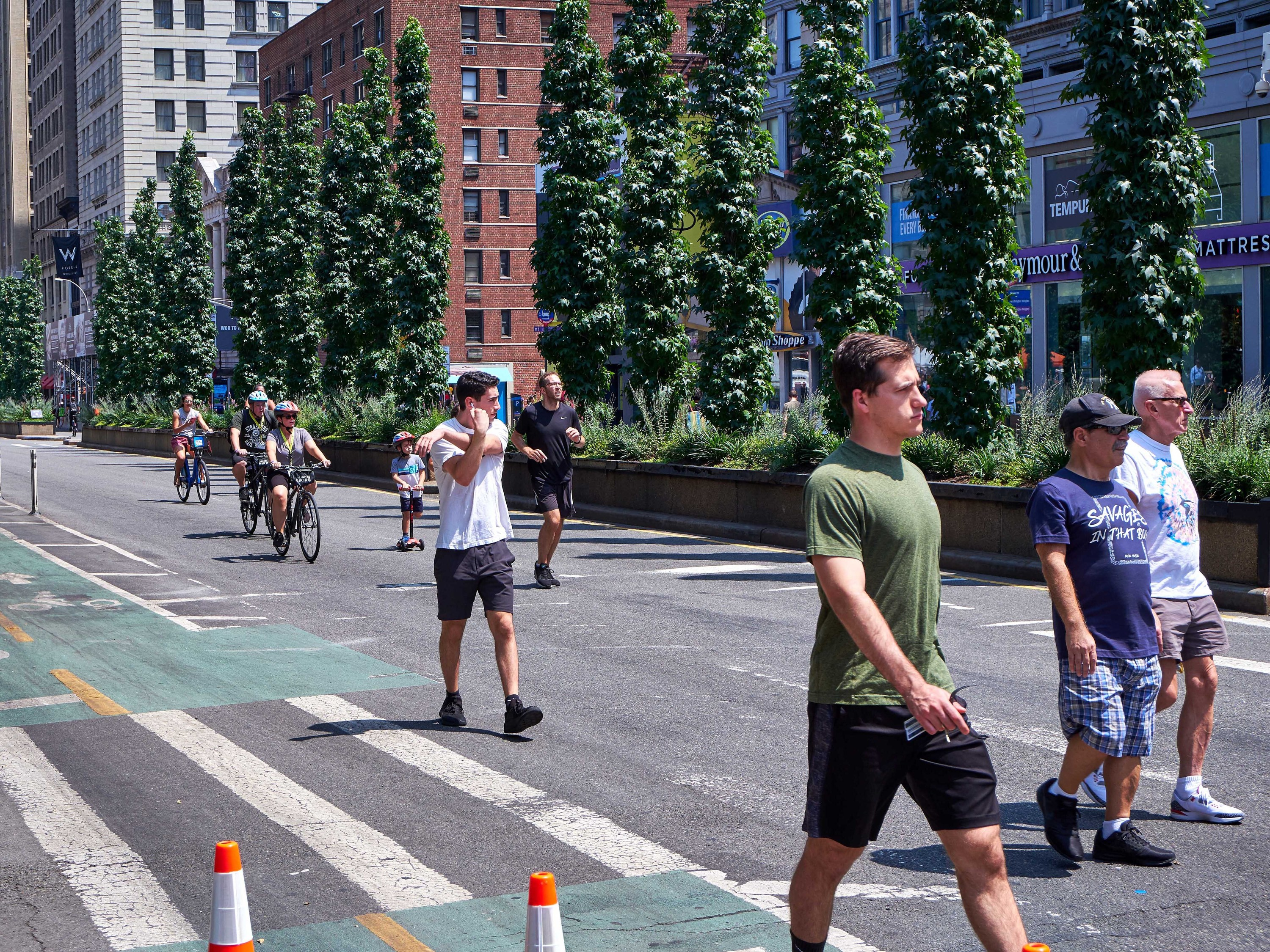New York City opened 13 more miles of streets over Memorial Day Weekend