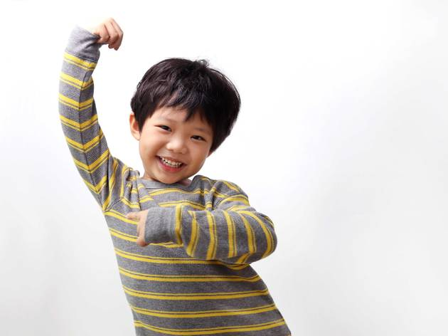 kid workout fitness