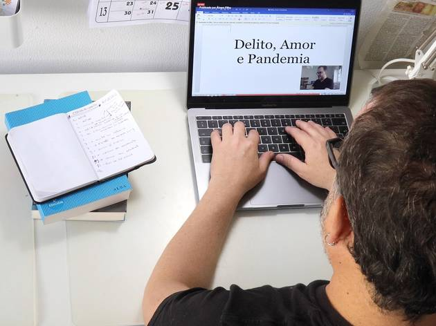 Álvaro Filho está a escever 'Delito, Amor e Pandemia'
