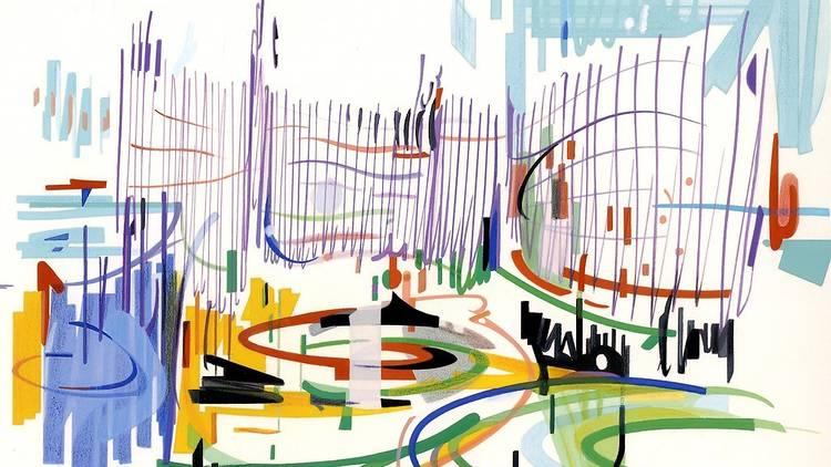 'Amã', de Nadir Afonso, é uma das obras em exposição